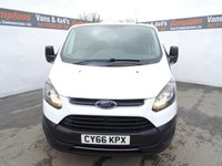 USED 2017 66 FORD TRANSIT CUSTOM 2.0 290 LR P/V 1d 104 BHP FORD TRANSIT CUSTOM EURO 6 PLY LINED LOW MILES