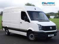 USED 2015 15 VOLKSWAGEN CRAFTER 2.0 CR35 TDI H/R P/V 1d 107 BHP 1 Owner Low Mileage Example Immaculate Van MWB