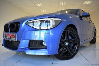 2014 BMW 1 SERIES 125D M SPORT 5 DOOR £13750.00