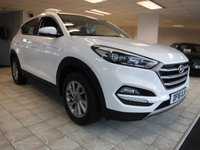 USED 2016 16 HYUNDAI TUCSON 1.7 CRDI SE NAV BLUE DRIVE 5d 114 BHP *** FINANCE & PART EXCHANGE WELCOME *** 1 OWNER £30 ROAD TAX SAT/NAV REVERSE CAMERA BLUETOOTH PHONE AIR/ CON HEATED SEATS CRUISE CONTROL