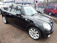 2009 MINI CONVERTIBLE 1.6 COOPER 2d AUTO 120 BHP £5495.00