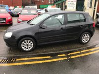 USED 2008 08 VOLKSWAGEN GOLF 1.9 MATCH TDI 5d 103 BHP