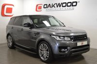 USED 2016 16 LAND ROVER RANGE ROVER SPORT 3.0 SDV6 HSE DYNAMIC 5d AUTO 306 BHP 1 PRIVATE OWNER + LR WARRANTY + ONLY 20K MILES + ELEC TOW BAR