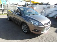 USED 2009 09 FORD FOCUS CC 2.0 CC-2 Coupe Convertible Cabriolet Petrol Sony CD / voice control / bluetooth / aux / usb