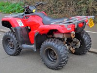 USED 2016 65 HONDA TRX450 4X4 FOURTRAX MANUAL QUAD BIKE ATV (ROAD LEGAL) +DIRECT RNLI+4X4+PETROL+