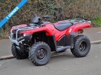 2016 HONDA TRX450 4X4 FOURTRAX MANUAL QUAD BIKE ATV (ROAD LEGAL) £3950.00