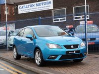 "USED 2013 13 SEAT IBIZA 1.4 TOCA 3d ONE OWNER ~ FULL SEAT HISTORY ( 5 SERVICES ) ~ SAT NAV ~ BLUETOOTH & MUSIC ~ AIR CONDITIONING ~ 16"" ALLOYS"