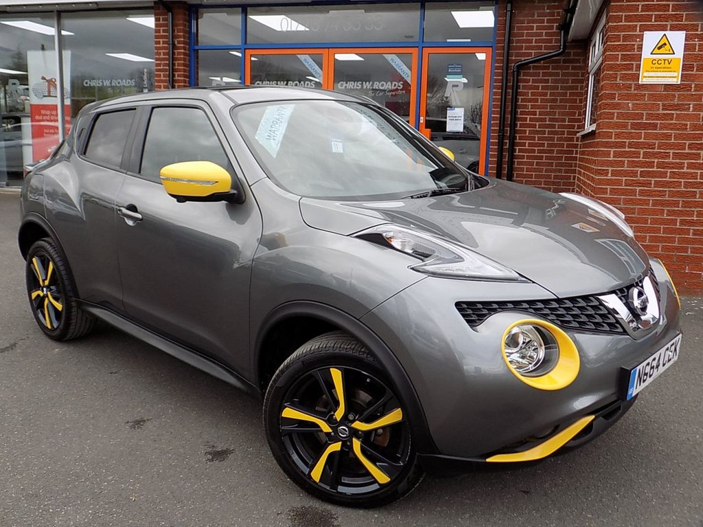 USED 2015 64 NISSAN JUKE 1.5 DCi TEKNA STYLE PACK PAN ROOF 5dr