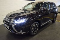 USED 2016 16 MITSUBISHI OUTLANDER 2.0 PHEV GX 4HS 5d AUTO 161 BHP 136 MPG - ZERO ROAD TAX - FACELIFT MODEL - LEATHER - NAV - H/SEATS - REVERSE CAMERA - PRIVACY GLASS - BLUETOOTH