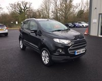 USED 2016 65 FORD ECOSPORT 1.5 ZETEC THIS VEHICLE IS AT SITE 2 - TO VIEW CALL US ON 01903 323333