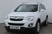 USED 2013 13 VAUXHALL ANTARA 2.2 SE NAV CDTI S/S 5d 181 BHP GENUINE LOW MILEAGE MODEL WITH HISTORY, ALLOY WHEELS, SATELLITE NAVIGATION, BLUETOOTH MEDIA PACKAGE, TOW PACK WITH ELECTRICS