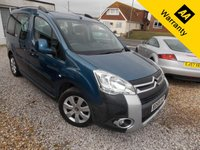 USED 2010 59 CITROEN BERLINGO 1.6 MULTISPACE XTR HDI 5d 109 BHP
