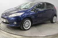 USED 2011 11 FORD FIESTA 1.4 TITANIUM 5d AUTO 96 BHP