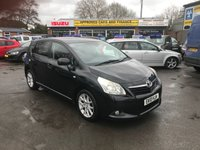 2010 TOYOTA VERSO 2.0 T SPIRIT D-4D 5d 125 BHP IN METALLIC BLACK WITH 164500 MILES WITH AN MOT TILL 1 OCTOBER 2019 (TRADE CLEARANCE) £3500.00