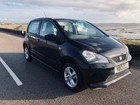 USED 2013 13 SEAT MII 1.0 SE 5dr BLACK.£20 ROADTAX.ALLOYS.