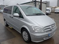 USED 2013 13 MERCEDES-BENZ VITO 113 CDI 9 SEATER TRAVELINER AUTOMATIC, 136 BHP [EURO 5]