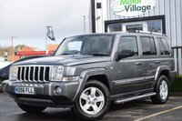 USED 2006 56 JEEP COMMANDER 3.0 V6 CRD LIMITED 5d AUTO 215 BHP Service History 6 Stamps:Very Low Mileage: