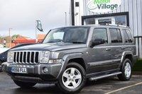 2006 JEEP COMMANDER 3.0 V6 CRD LIMITED 5d AUTO 215 BHP £8995.00