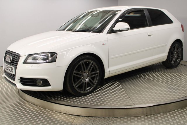 USED 2009 09 AUDI A3 2.0 TDI S LINE SPECIAL EDITION 3d 168 BHP