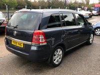USED 2009 09 VAUXHALL ZAFIRA 1.9 ELITE CDTI 5d 120 BHP FINANCE ME, 7 SEATER, LONG MOT