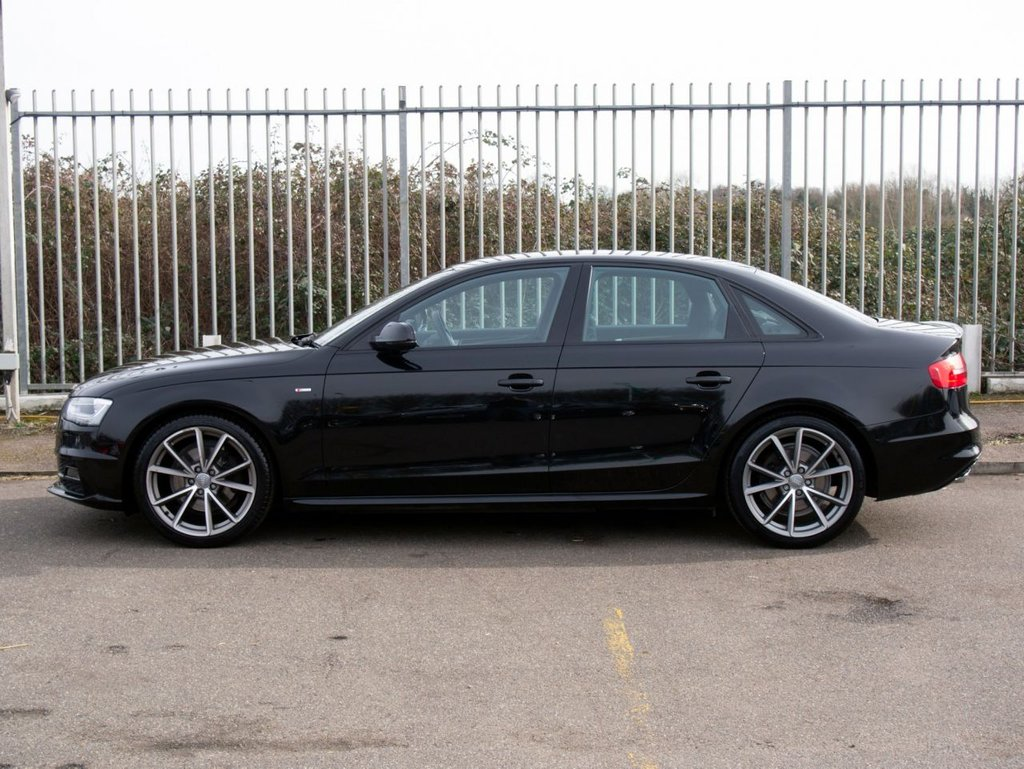 USED 2015 15 AUDI A4 2.0 TDI S LINE BLACK EDITION PLUS 4d 148 BHP