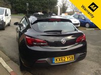 USED 2013 62 VAUXHALL ASTRA 1.7 GTC SPORT CDTI S/S 3d 128 BHP GTC SPORT - SERIOUS STYLE AND DECENT DRIVING DYNAMICS