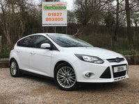 USED 2014 14 FORD FOCUS 1.0 ZETEC 5dr E/boost £20 Per Year Road Tax!