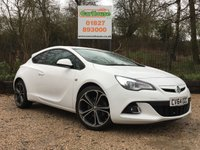 "USED 2014 64 VAUXHALL ASTRA GTC 1.4 GTC LIMITED EDITION S/S 3dr 20"" Alloys, 1 Owner, FSH"