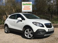 USED 2015 65 VAUXHALL MOKKA 1.6 EXCLUSIV CDTI S/S 5dr Cruise, Alloys, £30 Tax!