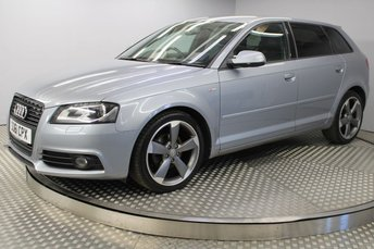 2012 AUDI A3 2.0 SPORTBACK TDI S LINE SPECIAL EDITION 5d 138 BHP £8500.00