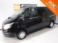 USED 2014 64 FORD TRANSIT CUSTOM 2.2 290 LIMITED LR P/V 1d 153 BHP