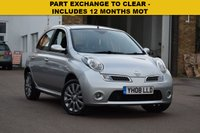 USED 2008 08 NISSAN MICRA 1.2 TEKNA 5d 80 BHP PART EXCHANGE TO CLEAR, price includes 12 months MOT, low mileage with lots of service records and 2 keys. HPi clear.
