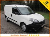 USED 2016 16 FIAT DOBLO 1.2 16V MULTIJET 1d 90 BHP Great Value New Shape Fiat Doblo Panel Van with Side Loading Door and Ply Lining.