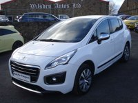 USED 2015 15 PEUGEOT 3008 1.6 BLUE HDI S/S ACTIVE 5d 120 BHP ROAD TAX ONLY £20 A YEAR