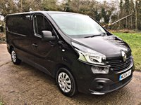 USED 2015 65 RENAULT TRAFIC 1.6 SL27 BUSINESS PLUS DCI S/R P/V 1d 115 BHP LOW GENUINE MILES, 1 OWNER, HPI CLEAR,