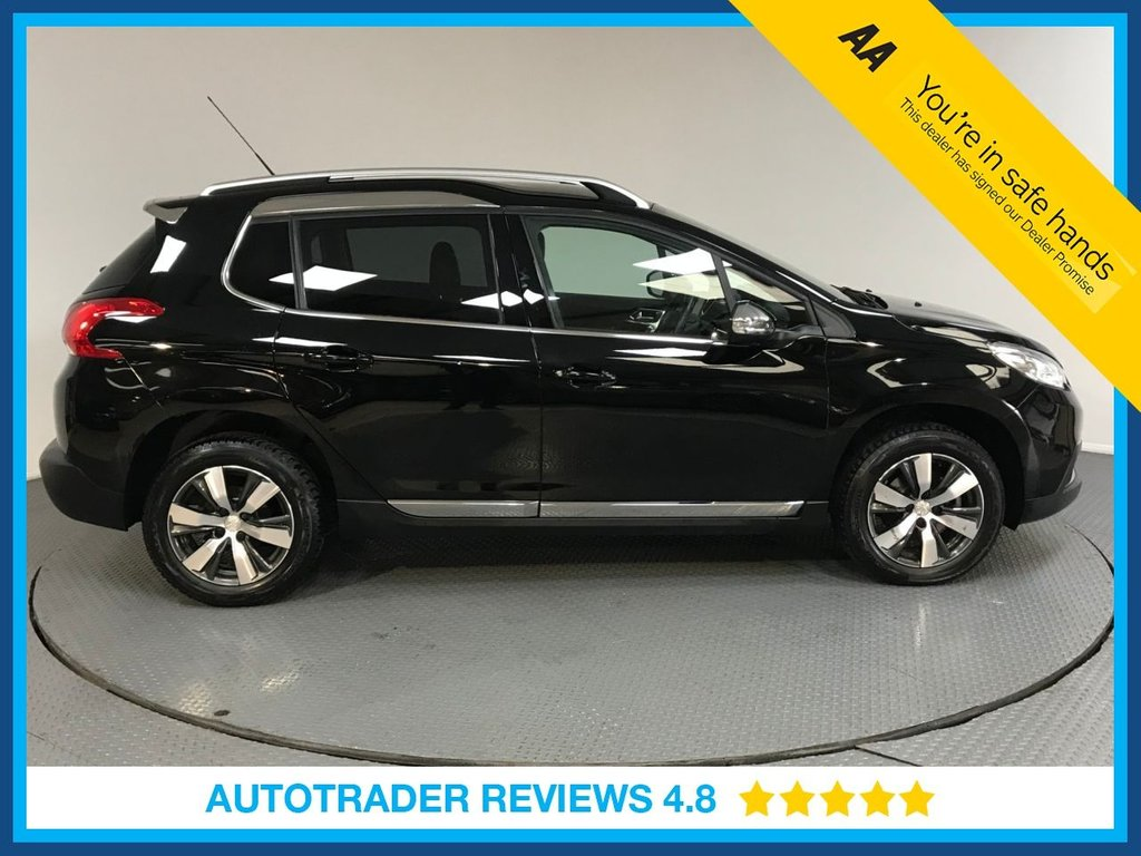 USED 2016 65 PEUGEOT 2008 1.2 PURETECH S/S ALLURE 5d AUTO 110 BHP ONE OWNER - FULL PEUGEOT HISTORY - AIR CON - AUX/USB - REAR SENSORS -  CRUISE - DAB RADIO