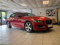 USED 2015 65 JAGUAR XE 2.0 R-SPORT 4d AUTO 178 BHP ITALIAN RACING RED-REVERSE CAMERA