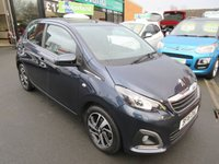 USED 2016 16 PEUGEOT 108 1.2 PURETECH ALLURE 5d 82 BHP CALL 01543 379066... 12 MONTHS MOT... 6 MONTHS WARRANTY... FREE ROAD TAX... LOW MILEAGE