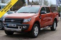 2015 FORD RANGER 3.2 WILDTRAK 4X4 DCB TDCI 1d 197 BHP £17995.00
