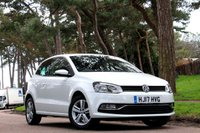 2017 VOLKSWAGEN POLO 1.0 MATCH EDITION 3d  £9695.00