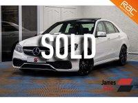 2015 MERCEDES-BENZ E CLASS 5.5 E63 AMG S 4d AUTO 577 BHP £35985.00