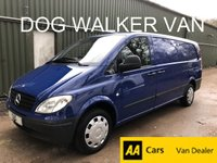 USED 2006 06 MERCEDES-BENZ VITO 2.1 111 CDI XLWB*FULLY KITTED OUT DOG VAN*47,000MILES*