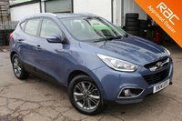 USED 2014 14 HYUNDAI IX35 1.7 SE NAV CRDI 5d 114 BHP VIEW AND RESERVE ONLINE OR CALL 01527-853940 FOR MORE INFO.