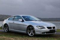2007 BMW 6 SERIES 3.0 630I SPORT 2d AUTO 255 BHP £7490.00