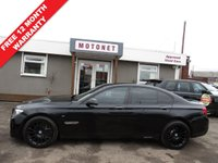 USED 2010 60 BMW 7 SERIES 3.0 730D M SPORT 4DR SALOON  AUTOMATIC DIESEL  242 BHP