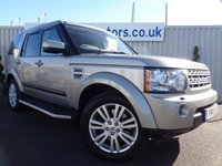 USED 2011 11 LAND ROVER DISCOVERY 3.0 4 SDV6 HSE 5d AUTO 245 BHP