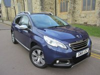 USED 2015 15 PEUGEOT 2008 1.6 ALLURE 5d AUTO 118 BHP ++ ONLY 11000 MILES ++