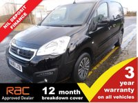 USED 2018 18 PEUGEOT PARTNER L1 850 Professional 1.6 Blue HDI 100ps (2xSLD, Look Pack, Front PDC & Folding Mirrors)