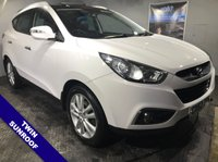 """USED 2012 62 HYUNDAI IX35 2.0 PREMIUM CRDI 4WD 5d 134 BHP Cruise Control     :     Phone Bluetooth Connectivity     :     Heated Front Seats                   Climate Control / Air Conditioning   :   Automatic Headlights   :   18"""" Alloy Wheels"""