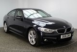 USED 2016 16 BMW 4 SERIES GRAN COUPE 3.0 430D XDRIVE M SPORT GRAN COUPE 4DR AUTO 255 BHP FULL SERVICE HISTORY 1 OWNER FULL SERVICE HISTORY + HEATED LEATHER SEATS + SATELLITE NAVIGATION PROFESSIONAL + REVERSE CAMERA + BLUETOOTH + PARKING SENSOR + CRUISE CONTROL + CLIMATE CONTROL + MULTI FUNCTION WHEEL + DAB RADIO + XENON HEADLIGHTS + ELECTRIC WINDOWS + ELECTRIC MIRRORS + 18 INCH ALLOY WHEELS